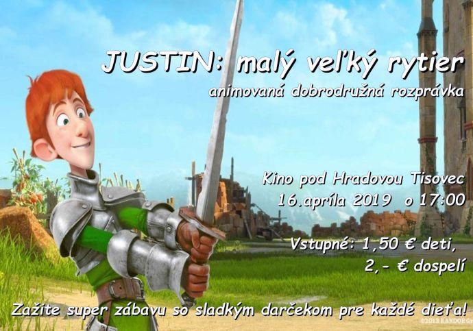 a888f957f Aktualne - Kino pod Hradovou - Justin - malý veľký rytier ...